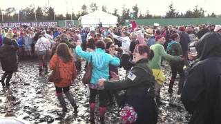 Dancing in the mud at T in The Park