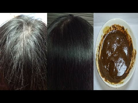 Treating gray hair