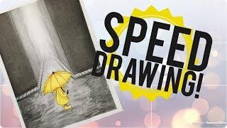 Speed Drawing- Dias de Chuva💛