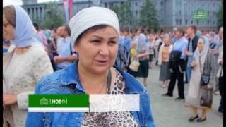 В Омске прошел общегородской крестный ход, посвященный дню крещения Руси
