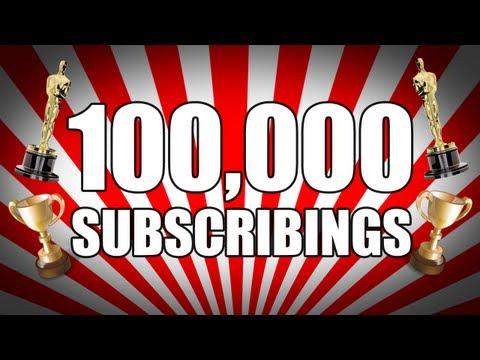 100,000 Subscribs
