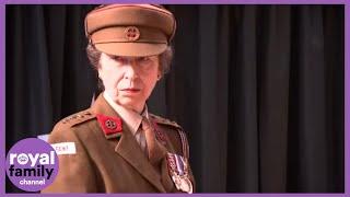 Princess Anne Unveils Train Named After Odette Hallowes
