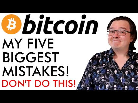 My 5 Biggest Bitcoin & Crypto Mistakes Explained [DON'T DO THIS] from YouTube · Duration:  13 minutes 3 seconds