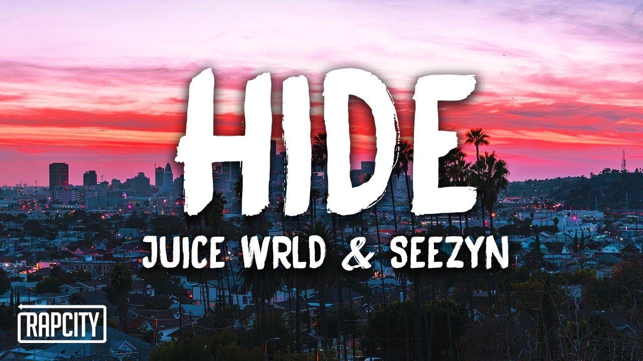 Juice WRLD, Seezyn - Hide (Lyrics) (Spider-Man: Into the Spider-Verse)