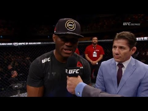 Fight Night Santiago: Kamaru Usman Octagon Interview