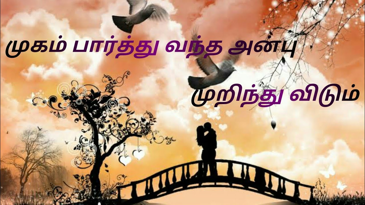 Tamil Beautiful Quotes Love Whatsapp Status Youtube