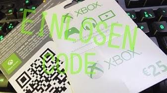 Xbox one Code/ Guthaben aufladen -- so funktioniert's
