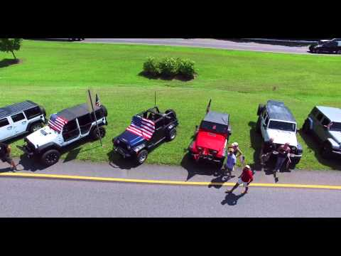 Lance Cpl. Skip Wells - Funeral Procession Drone