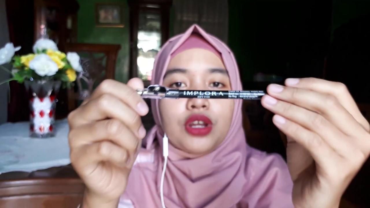 Review Pensil Alis Implora Hanya Rp6000 Yang Bagus Viva Eye Liner Pencil Original 13gr
