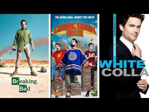 Recomendaciones Netflix: Breaking Bad, Comic Book Men y White Collar.