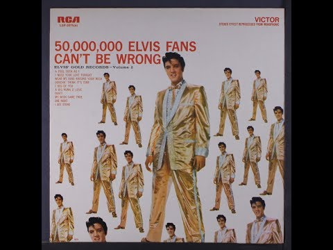 Elvis Presley-Elvis' Gold Records Volume 2-in re-processed stereo