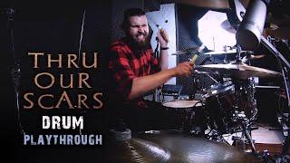 Fleshgod Apocalypse - Thru Our Scars (drum playthrough)