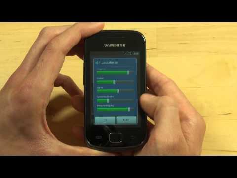Samsung S5660 Galaxy Gio Quickstart