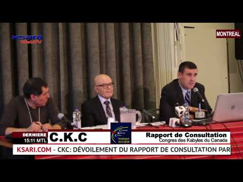 KSari WebTV - Congrès des Kabyle du Canada