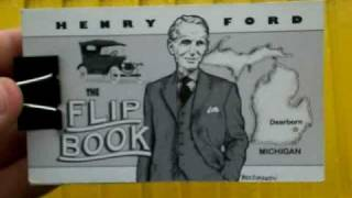Henry Ford Flip book