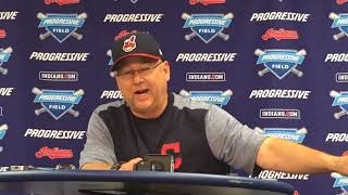 Terry Francona nearly wiped out on his scooter after noticing Tyronn Lue