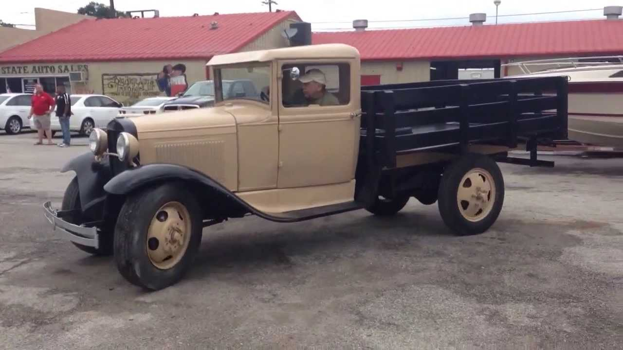 1930 Ford Model AA for sale - YouTube