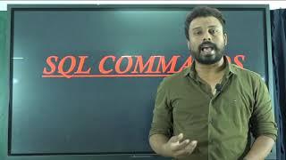 II PUC   COMPUTER SCIENCE   SQL COMMANDS - 01