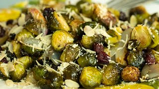 Roasted Brussel Sprouts & Shallots for Thanksgiving