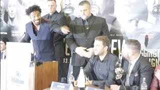 YOU ARE ALL FU*KIN RETARDS! - DAVID HAYE LOSES PLOT FOUL MOUTHED RANT @ TONY BELLEW & FANS
