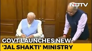 PM Modi's Government Forms New Jal Shakti Ministry: What It Does