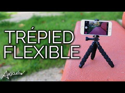 Trépied flexible pour smartphones, prenez des photos créatives ! 📸  - Trépied #Pixter