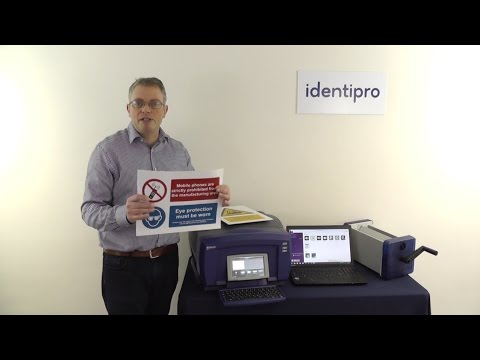 Brady BBP85 Sign and Label Printer - a UK overview