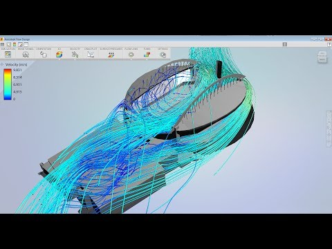 Autodesk Flow Design - How to Model Wind Inside a Stadium