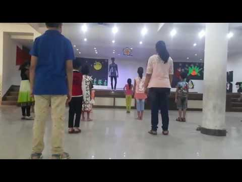 Aklak chaklak dance || exceed summer camp || kids batch || f+ choreography by mohit|| kidzee school