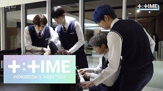 Download lagu [T:TIME] TXT playing the piano - TXT (투모로우바이투게더)
