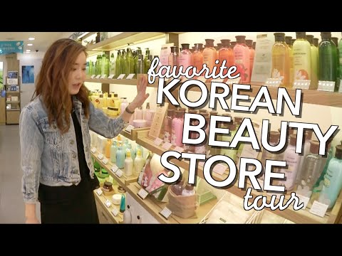Favorite Korean Beauty Shops Tour + Recommendations