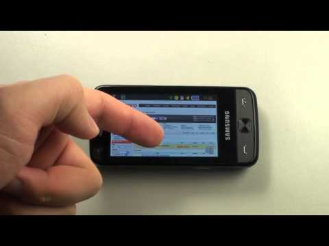 Samsung M8910 PIXON12 - Internet & Google Maps - part 2