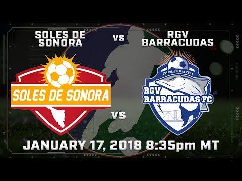 Soles de Sonora vs RGV Barracudas