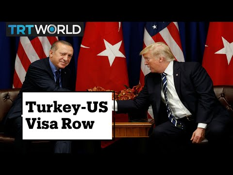 Strait Talk: What's behind Turkey - United States visa row?