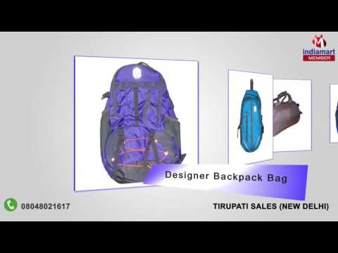 Bags and Suitcases By Tirupati Sales, New Delhi