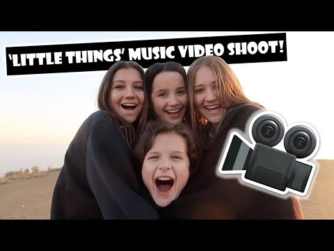 Little Things Music Video Shoot 🎥 (WK 374) | Bratayley