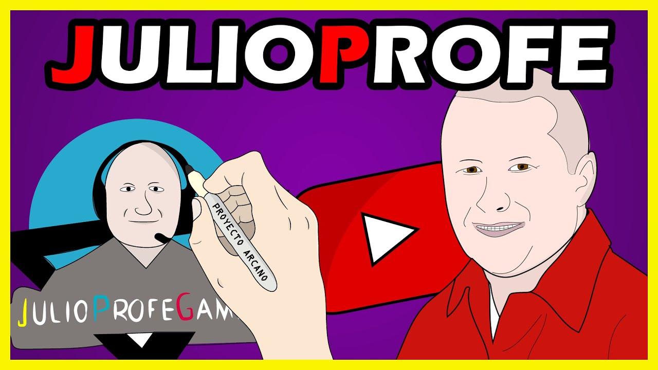 JULIOPROFE Draw My Life - Breve biografía del profesor mas famoso en youtube