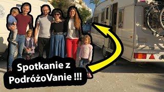 Spotkanie z PodróżoVanie !!! - Pierwszy dzień z Kasią i Łukaszem  (Vlog #222)