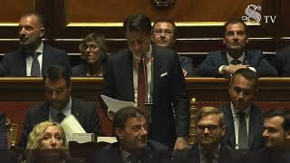 Palazzo madama, 20/08/2019 - comunicazioni del presidente consiglio, giuseppe conte, al senato della repubblica.http://www.governo.it/it/articolo/comunic...