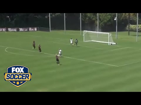 Texas Longhorns goalie scores ridiculous game-winning goal