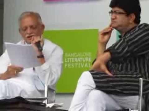 BLF 2013 - Aao Nazm Kahein with Gulzar and Prasoon Joshi-07