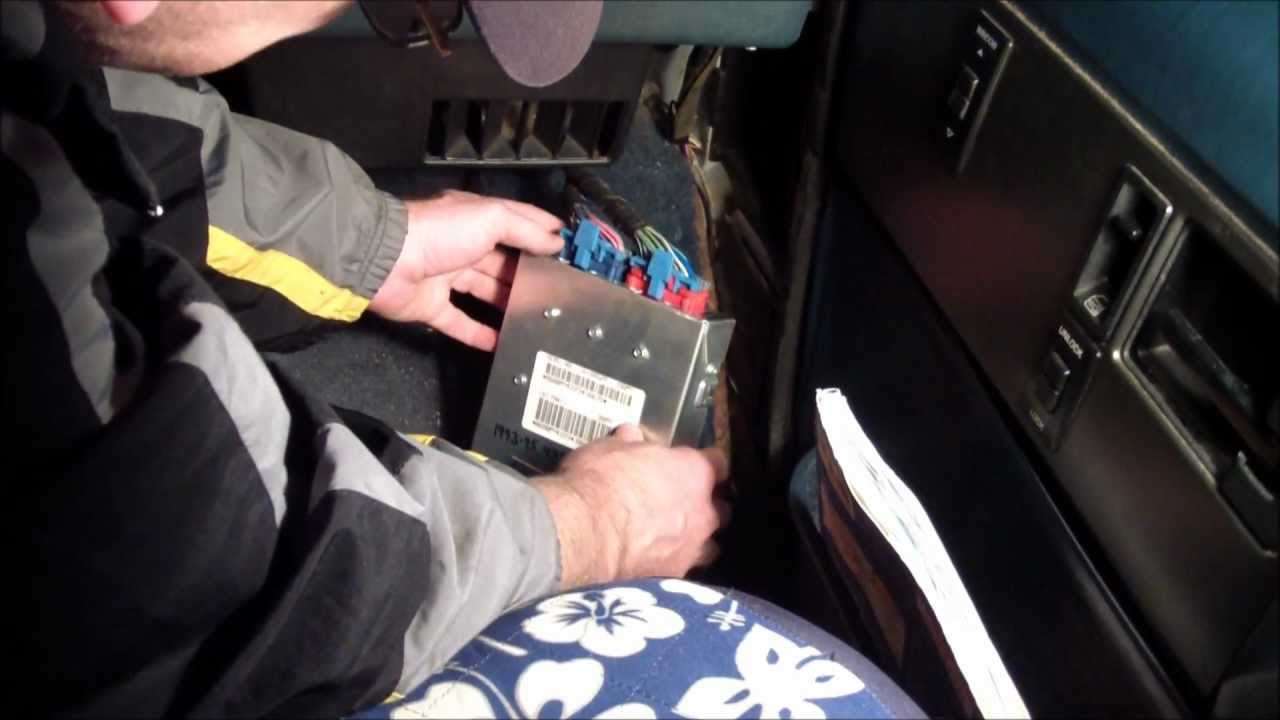 How To Replace The ECU Computer On A GMC Safari Or Astro