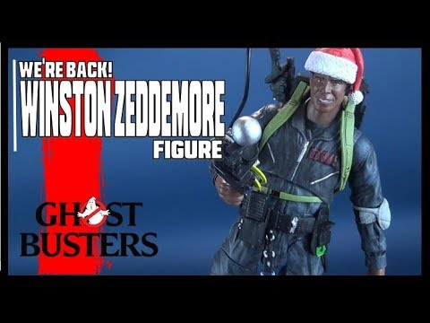 Ghostbusters 2 WE/'RE BACK WINSTON ZEDDEMORE Action Figure Diamond Select ~NEW~