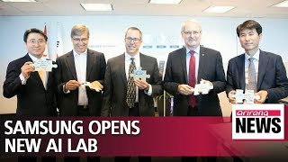 Samsung Electronics opens artificial intelligence research center in Montreal