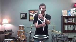 Stick Tricks - Marching Snare Drum Solo - Jeff Jones - Zomac School of Music