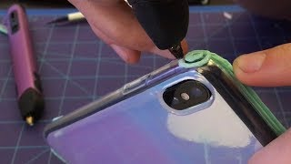 3Doodler Phone Case - Vinyl Wrapping iPhone X!!