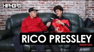 Rico Pressley Talks New Music, Touring with Wiz Khalifa, Eardrummers Records & More