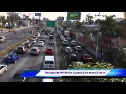 Reporte Vial López Mateos