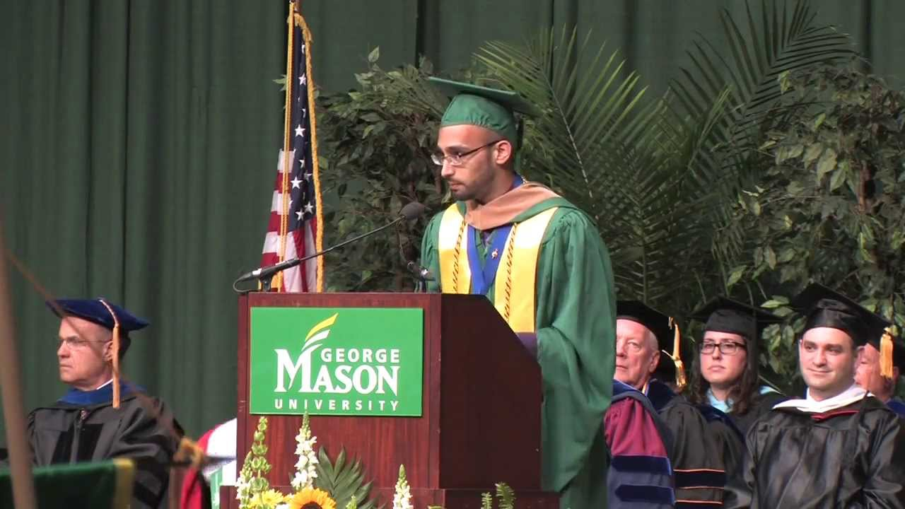 2013 School of Management Convocation (George Mason University ...