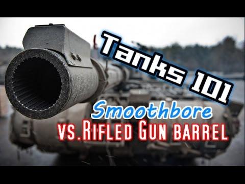 Tanks 101: Smoothbore vs. Rifled Gun Barrel || World of Tanks